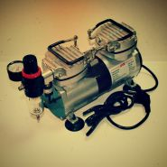 1205-Компрессор 1205, с регулятором давления, автоматика, два режима работы, два цилиндра